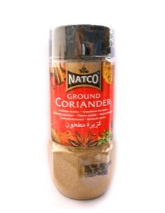 Natco Ground Coriander [Dhania Powder] [Jar] | Buy Online at the Asian Cookshop